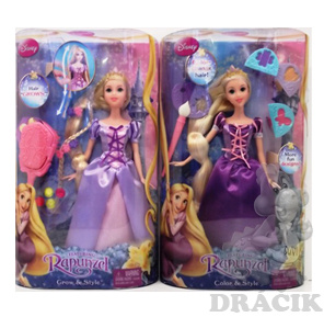 Titulní stránka ~ Panenky ~ Dospělé ~Panenka Rapunzel - Locika