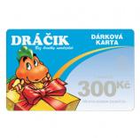 Dárková karta 300 Kč