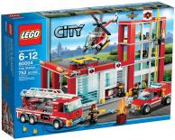 60004 Lego City - Hasičská stanice