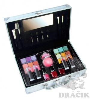 kosmetický kufřík hliníkový kosmetický kufřík obsahuje zrcadlo ...