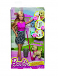 Barbie - Hrací souprava se štěňátkem