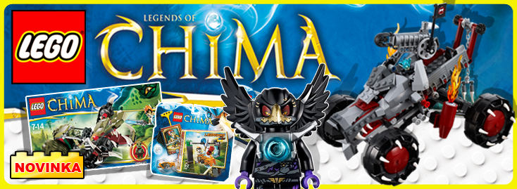 LEGO CHIMA - Novinka 2013