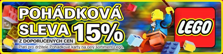 LEGO sleva 15%