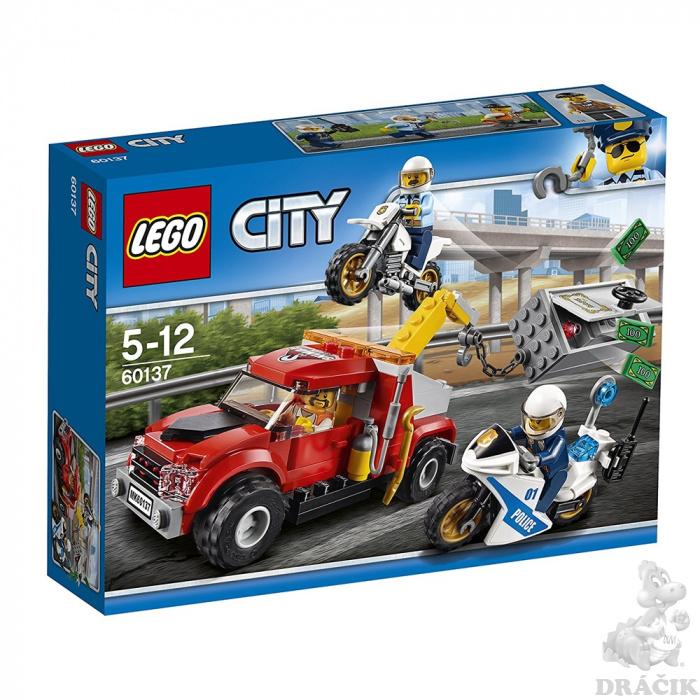 ba68ecfd9dd 60137 LEGO CITY - POLICIE - Trable odtahového vozidla