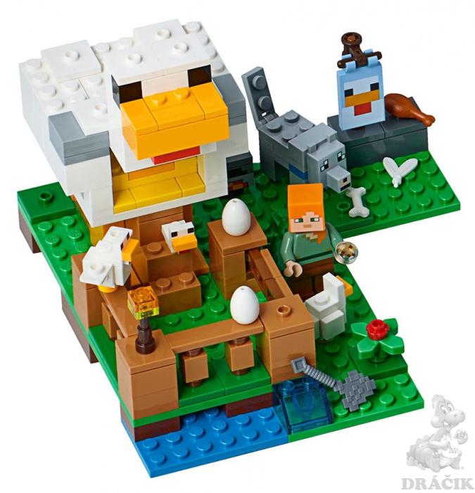 ed4c4fc41 21140 LEGO MINECRAFT - Kurník   Dráčik