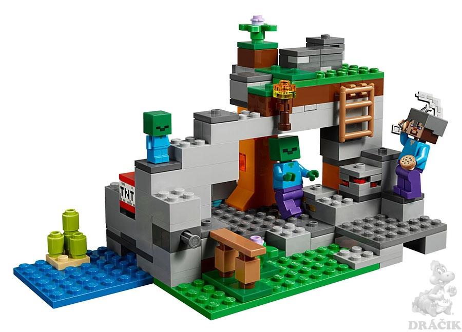 1f164f1fe 21141 LEGO MINECRAFT - Jeskyně se zombie   Dráčik