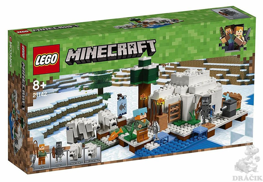 f23a20638 21142 LEGO MINECRAFT - Iglú za polárním kruhem
