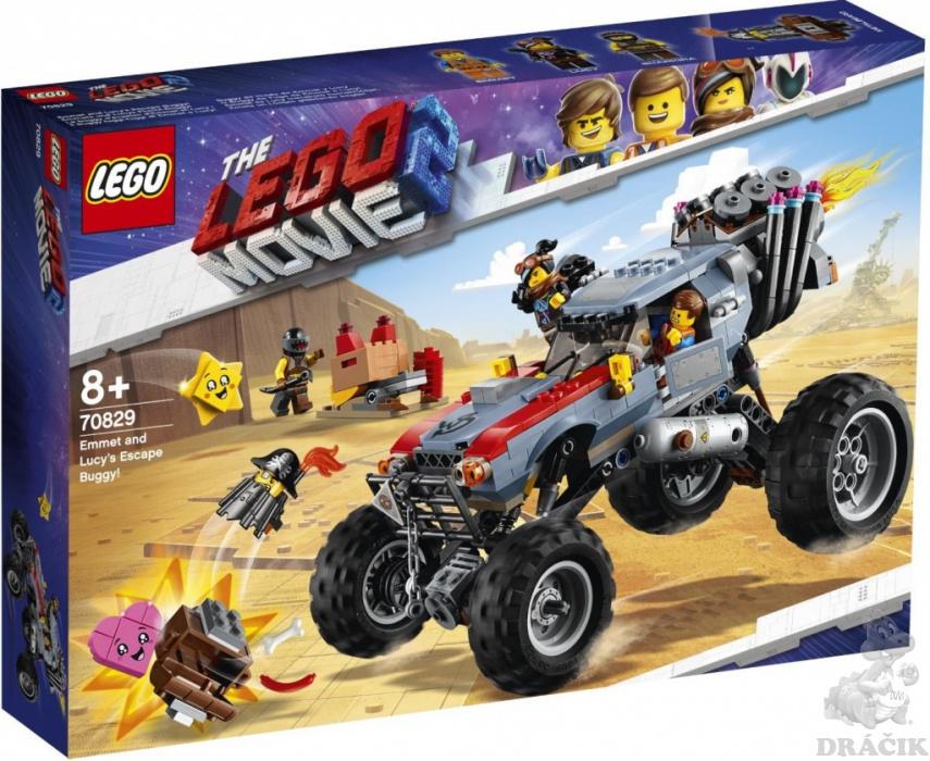114324d84 70829 LEGO MOVIE 2 - Úniková bugina Emmeta a Lucy!   Dráčik