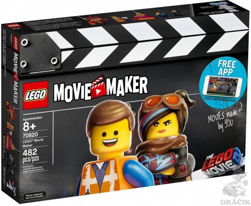 b367bbdab 70820 LEGO MOVIE 2 - Movie Maker   Dráčik