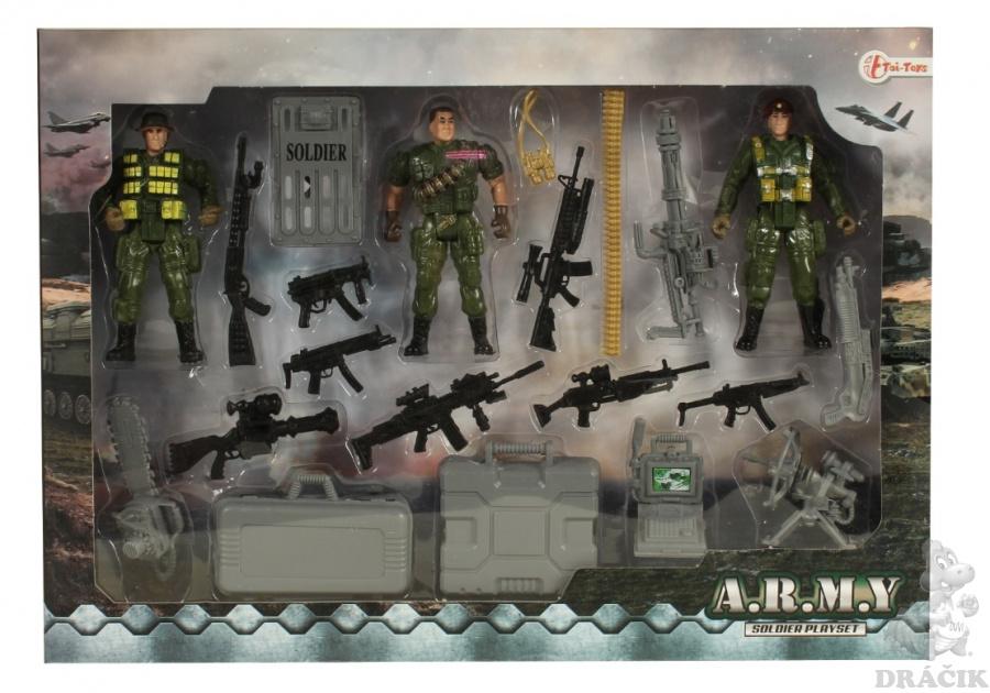 a2dbe1943af2 Vojenská sada – Vojáci s doplňky
