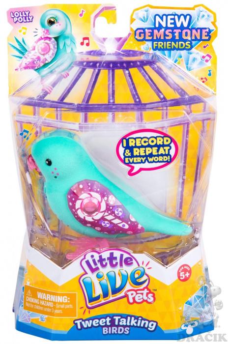 8661cd908 Little Live Pets - Ptáček zelený | Dráčik