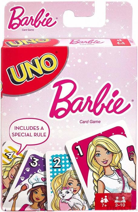 65b1a41ae Karty UNO – Barbie   Dráčik